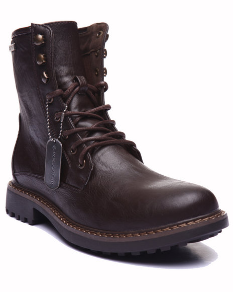 Rocawear Men Joe Boots Brown 8