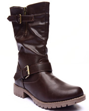 Basic Essentials - Brooklyn Strap Boot