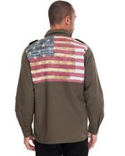 Winchester - Flag Applique L/S Button-Down