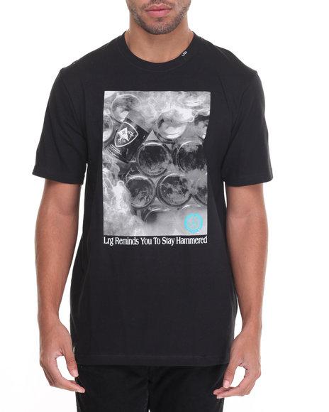 Lrg Men Stay Hammered T-Shirt Black Medium