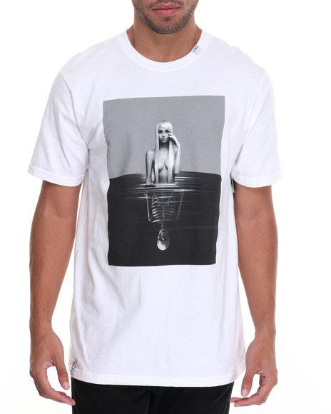 Lrg Men Reflections Glow T-Shirt White Large
