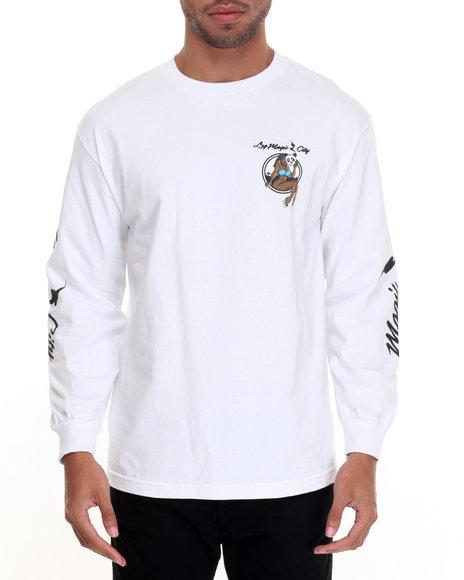 Lrg Men Magic City L/S T-Shirt White X-Large
