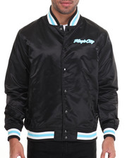 Outerwear - Magic City Satin Jacket