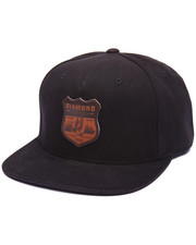 Hats - Shine Crest Snapback Cap