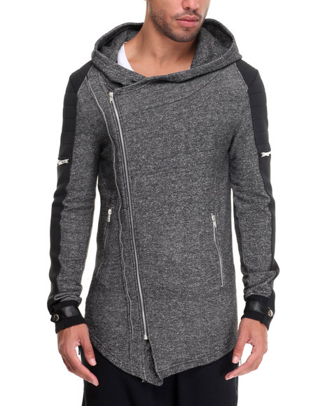 Black Kaviar - Men Grey Black Kaviar Jacket