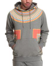 Men - Dashiki Pullover Hoodie