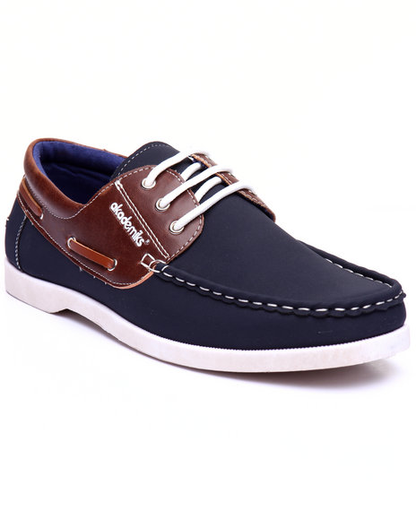 Akademiks - Men Navy Mick Boat Shoe