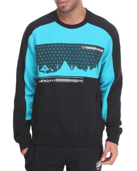Lrg Men Zero Gravity Sweatshirt Black Medium