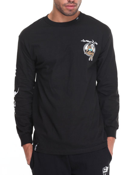 Lrg - Men Black Magic City L/S T-Shirt - $36.00