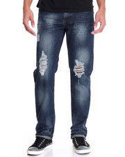 Jeans & Pants - Destroyed Denim Jeans