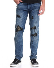 Men - Rip and Repair Denim Jean