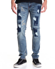 Men - Rip & Repair Denim Jean