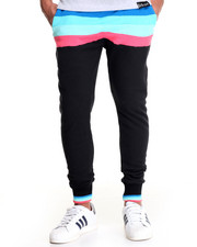 Men - 3D CUBE FRENCH TERRY JOGGERS
