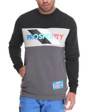 Sweatshirts & Sweaters - POSITIVITY AND PROSPERITY CREWNECK SWEATSHIRT