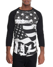 Winchester - Flag Printed Sublimation T-Shirt