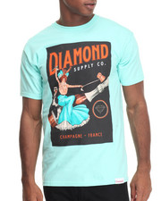 Diamond Supply Co - Champagne France Tee