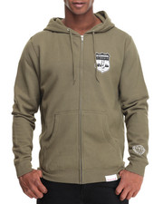Men - Game Patch Zip Hoodie