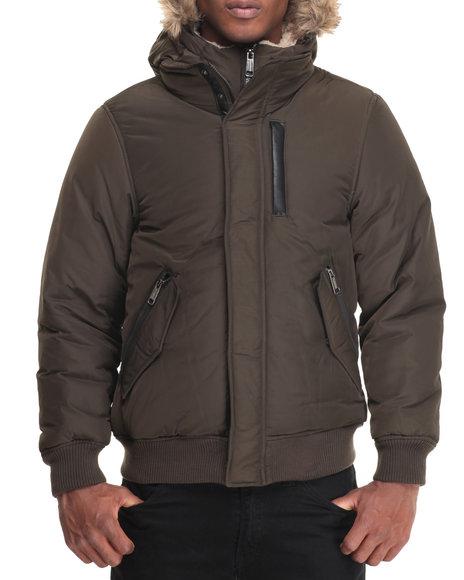 Steve Madden Olive Heavy Coats