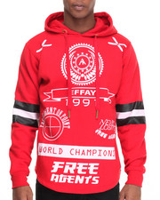 Buyers Picks - Free Agents Flyer Printed Pullover Hoodie