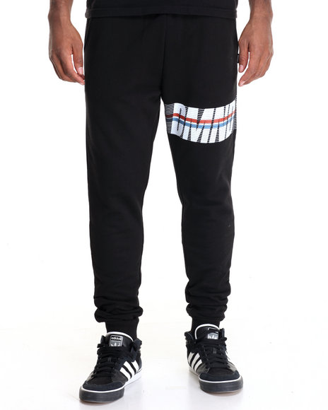 Diamond Supply Co - Men Black Triathlon Sweatpants - $34.99