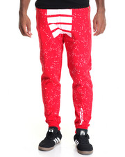Men - Free Agents Creator Printed Fleece Joggers