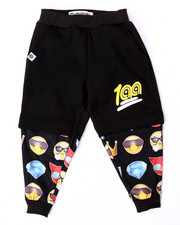 Boys - EMOJI COMPRESSION SHORT JOGGERS (4-7)