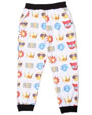Boys - EMOJI ALLOVER PRINT JOGGER (8-20)
