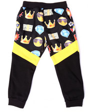 Sweatpants - EMOJI CUT & SEW JOGGERS (4-7)