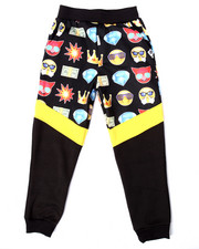 Bottoms - EMOJI CUT & SEW JOGGERS (8-20)