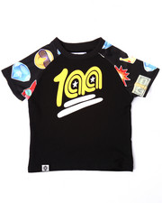 Boys - EMOJI RAGLAN TEE (INFANT)