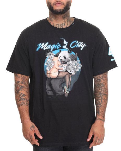 Lrg - Men Black Magic City T-Shirt (B&T)