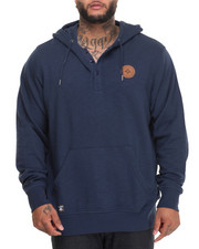 Shirts - RC Pullover Hooded Henley (B&T)