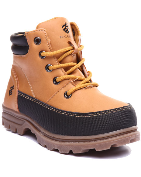 Rocawear - Boys Wheat Mack Boots (11-3) - $44.99