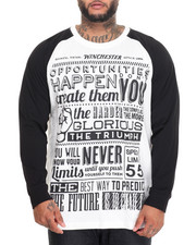 Shirts - Great Sentences Raglan (B&T)