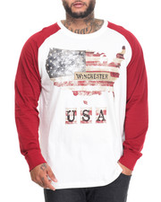 Shirts - Americana Print Raglan (B&T)