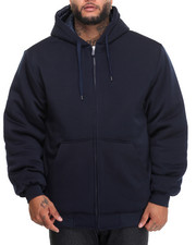 Men - Quilt - Lined Fleece Hoodie (B&T)