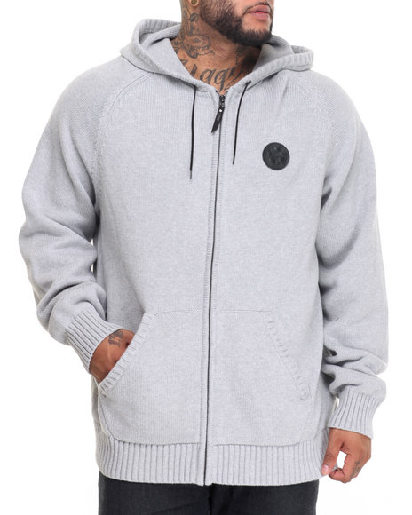 Lrg - Men Grey Rc Sweater Zip Hoodie (B&T)