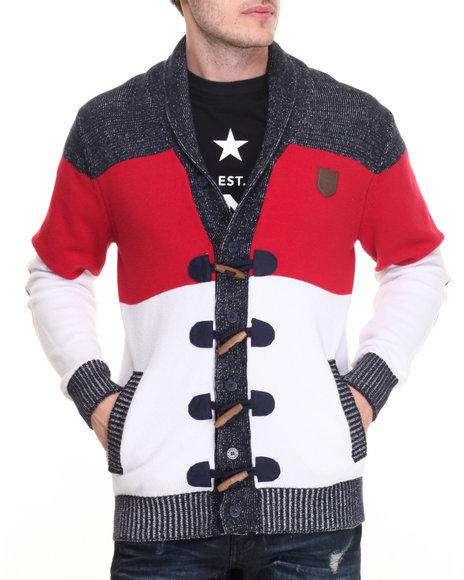 Born Fly - Men Navy Bender Sweater