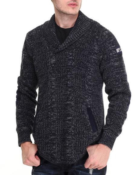 Born Fly - Men Indigo Grove Sweater
