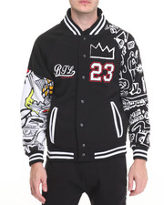 Varsity Jackets - Graffiti - Themed Varsity Jacket