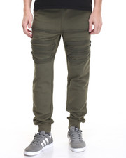 Men - Distressed French Terry Jogger