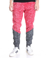 Basic Essentials - Splatter - Print Fleece Joggers