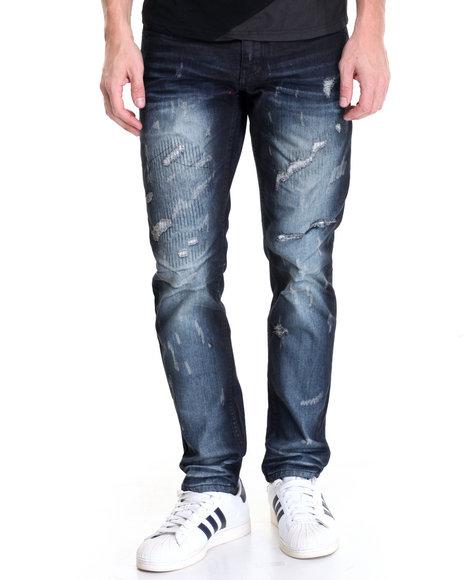 Born Fly - Men Dark Wash Frisch Jeans