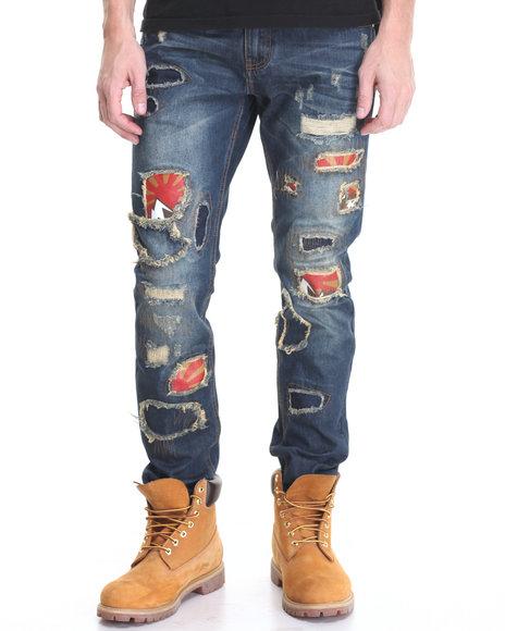 Born Fly - Men Dark Wash Chesbro Jeans