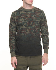 Winchester - Flag Applique Camouflage L/S T-Shirt