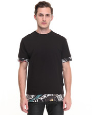 Men - Trompe l'oeil medium fit tee