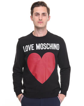 Sweaters - Heart logo regular fit sweatshirt
