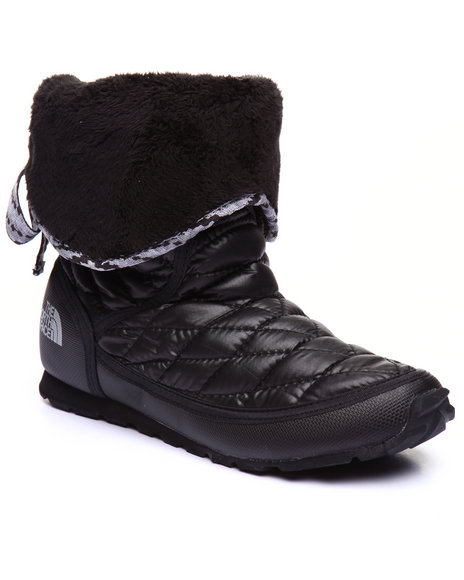 The North Face - Women Black Women's Thermoball Roll-Down Bootie Ii