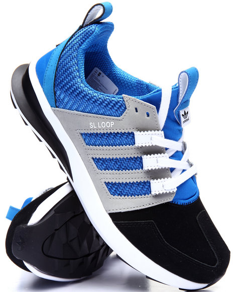 Adidas - Men Blue S L Loop Runner Leather