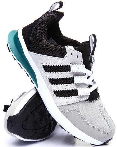 Adidas - Men Grey S L Loop Runner Leather